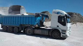 Camión basculante,trailer,Zaragoza