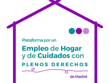 Presentación Tablas Salariales de la Plataforma de Empleo de Hogar con Plenos Derechos de Madrid