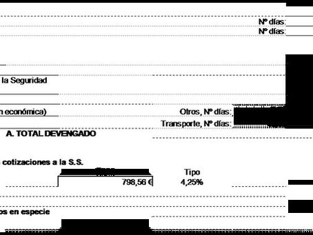 Los Pagos por Alojamiento, Manutención y Otros Pagos Extrasalariales