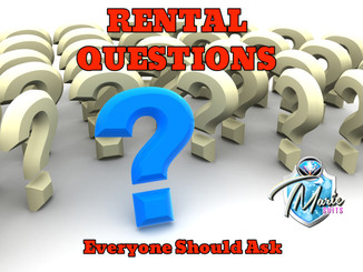 "Rental Questions you ""SHOULD"" ask"