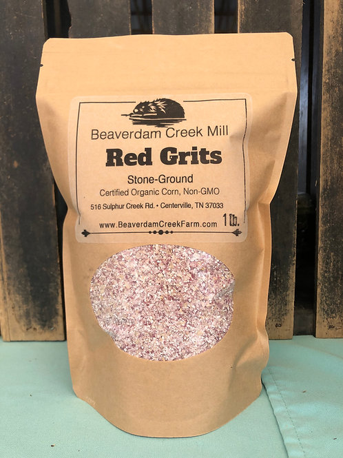 Red Grits 1 lb.