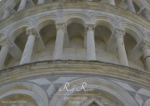 Slate Tower of Pisa