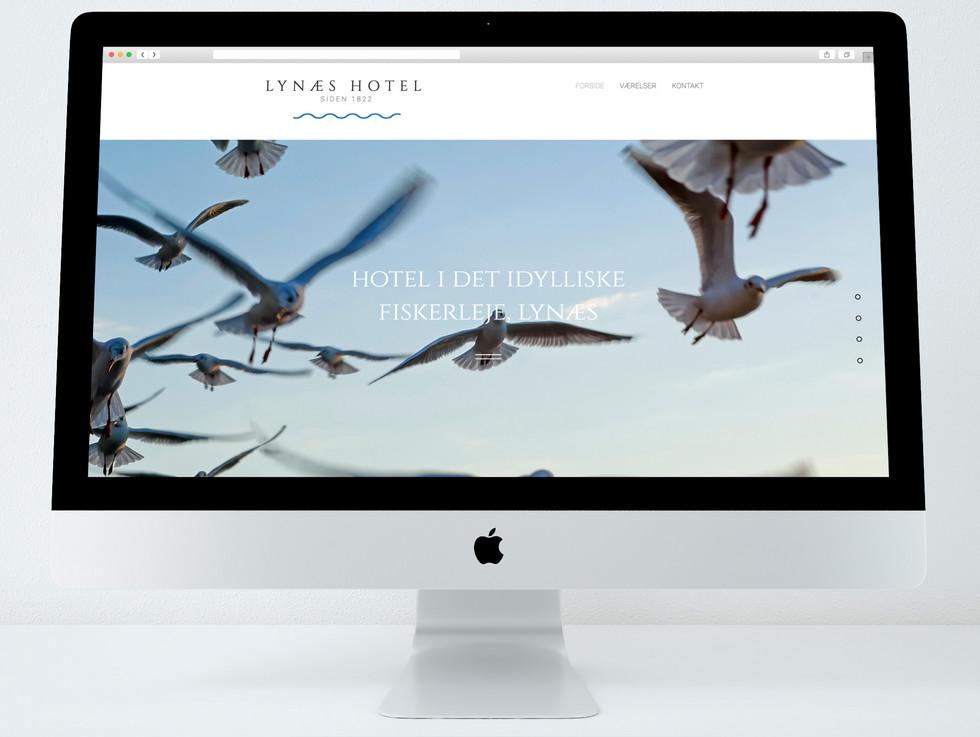Lynæs Hotel. Hjemmeside.