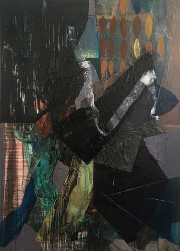 Mixed media · 2017 · 140 x 100 cm