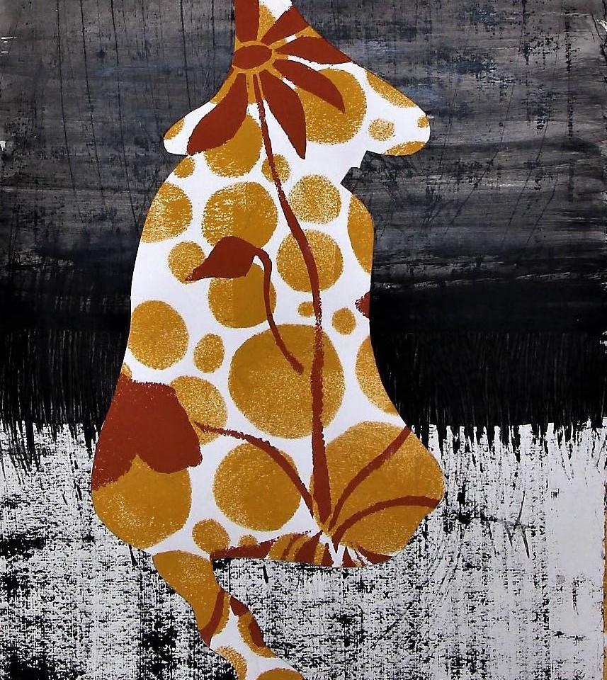 Kvinde med blomst