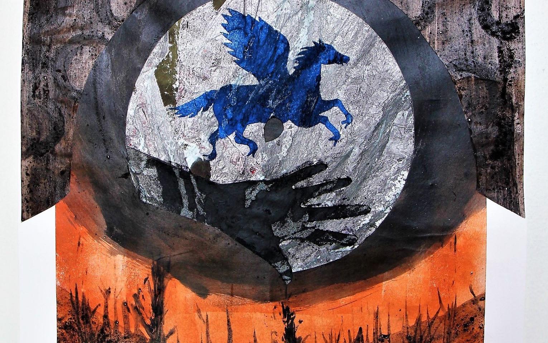 Blå hest