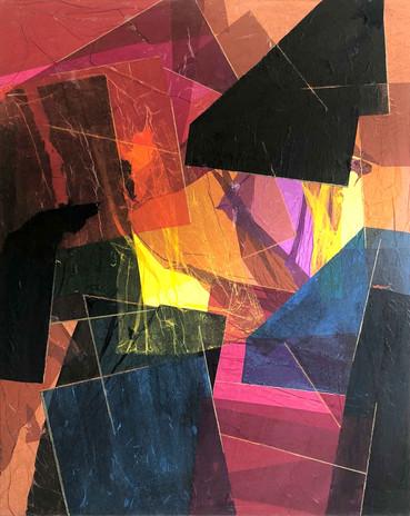 Mixed media · 2018 · 150 x 130 cm