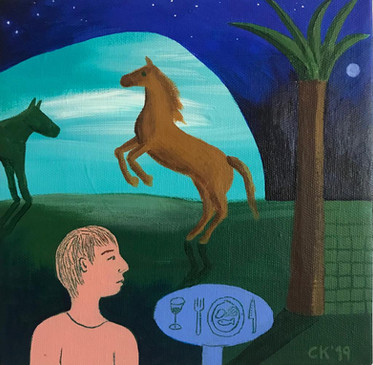 Heste, 2.500 kr.