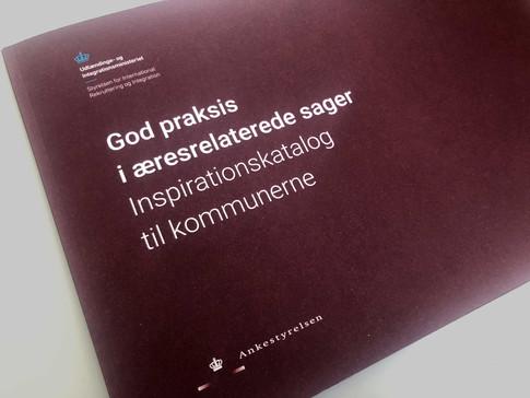 GOD PRAKSIS I ÆRESRELATEREDE SAGER. Inspirationskatalog til kommunerne.