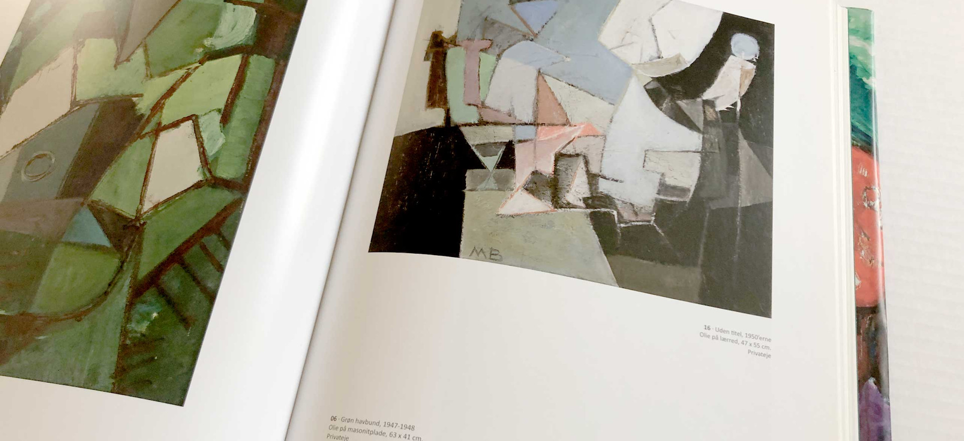 MOGENS BALLE. Kunstbog om maleren Mogens Balle.