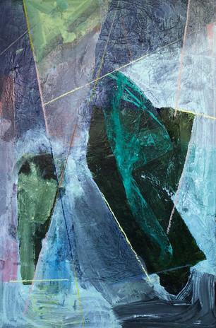 Mixed media · 2018 · 120 x 100 cm