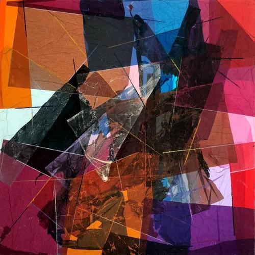 Mixed media · 2018 · 150 x 150 cm