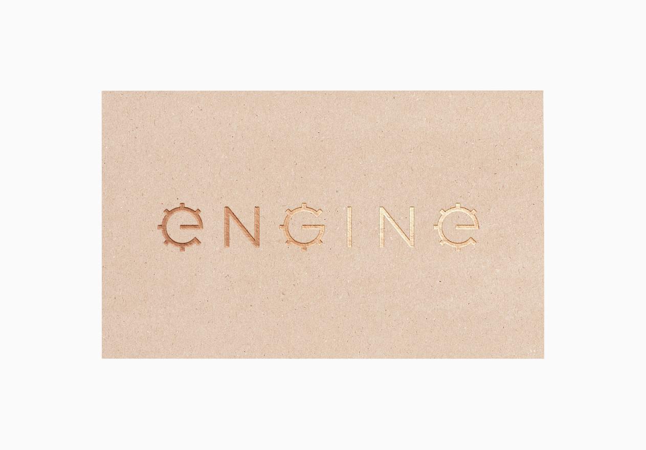 Engine. Logo.