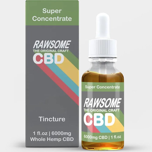Rawsome Super Concentrate CBD Oil Tincture