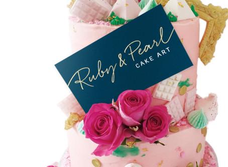 Ruby & Pearl Cake Art