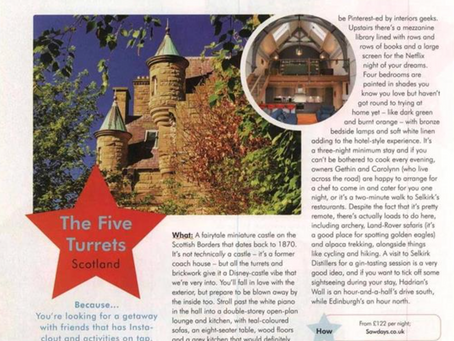 Cosmopolitan recommends The Five Turrets