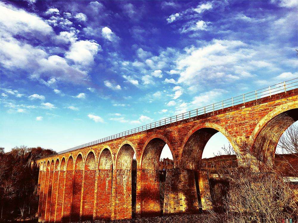 Leaderfoot Viaduct near Melrose