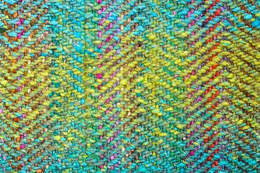 Beautiful hand weaving from Scottish Borders weaver Carolynn Shaw.