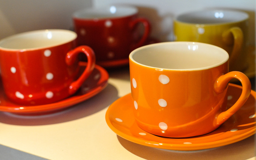 Cups and saucers, The Five Turrets
