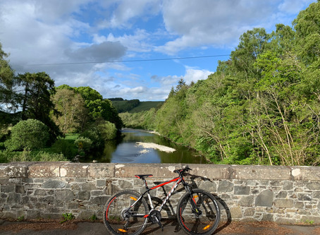 Bowhill and Yair Brig circular cycle route