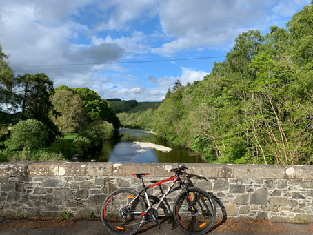 Bowhill and Yair Brig circular cycle route
