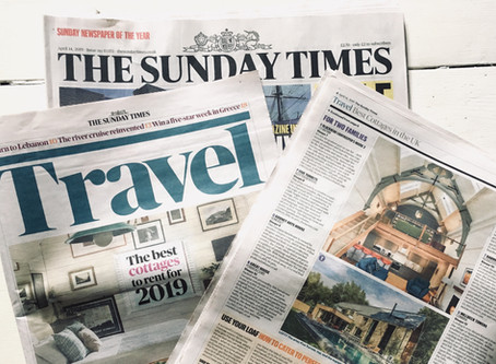 The Sunday Times names The Five Turrets in its top 25 UK holiday cottages