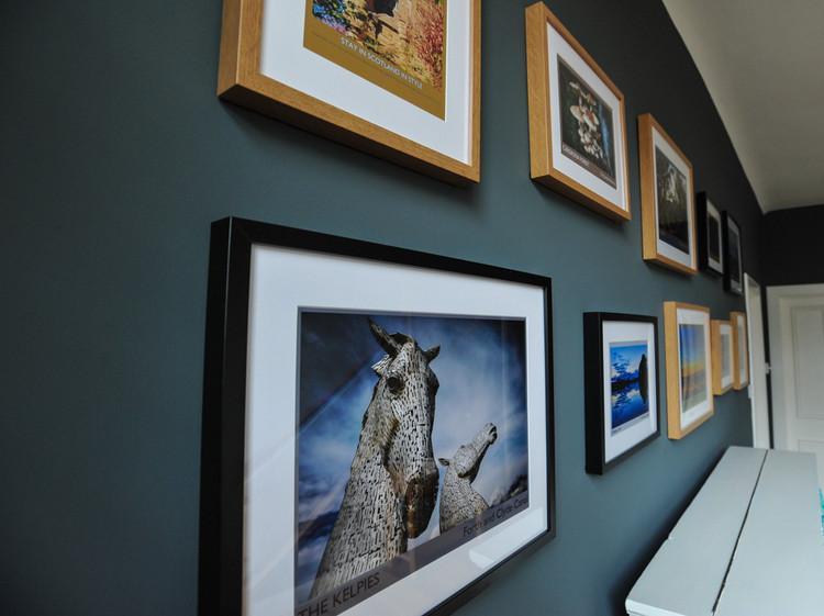 Piano gallery, The Five Turrets