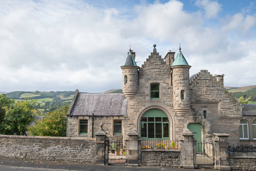 The Five Turrets, Selkirk, historic self catering exclusive use holiday home at the heart of the Scottish Borders