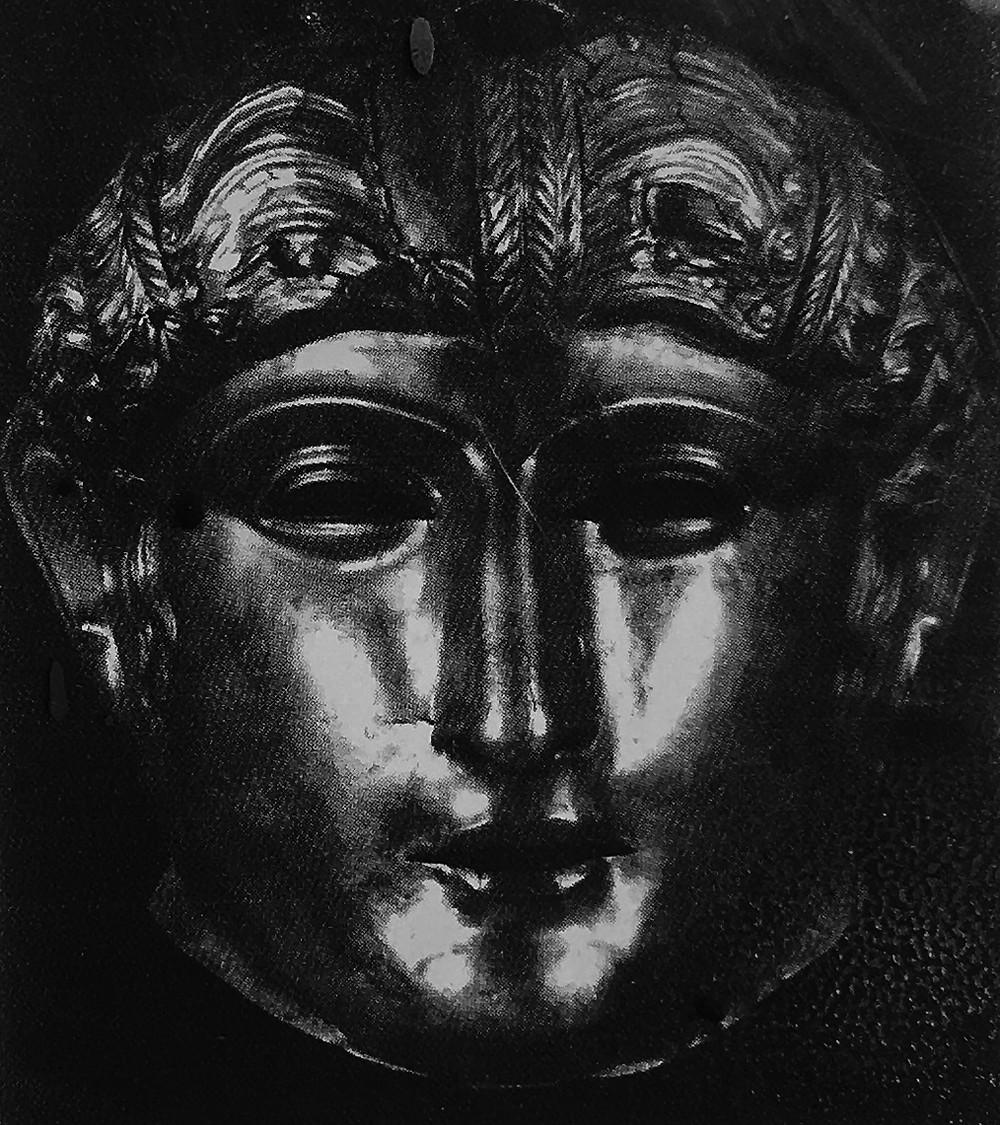 Brass face mask