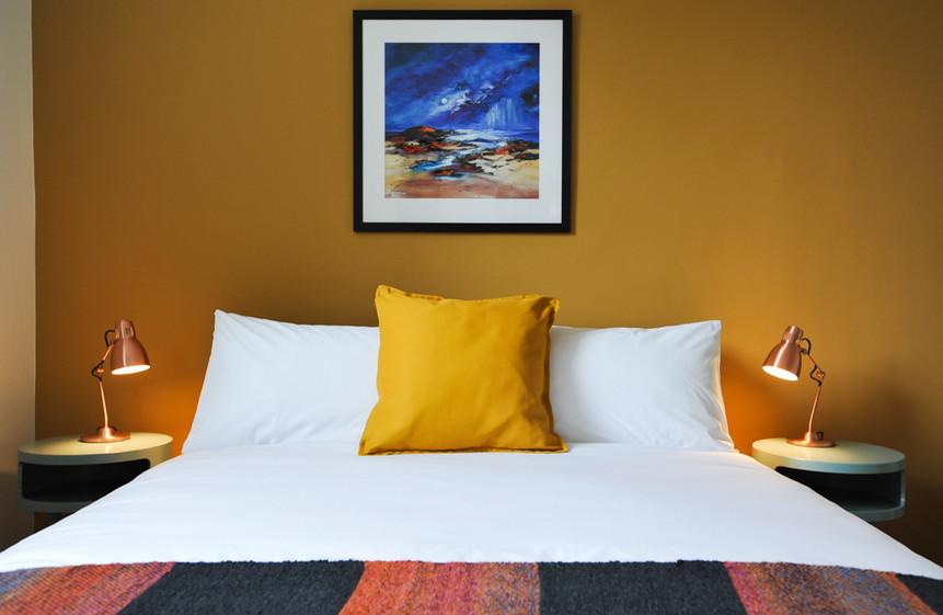 Yarrow bedroom, The Five Turrets