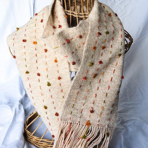 Merino and alpaca scarf