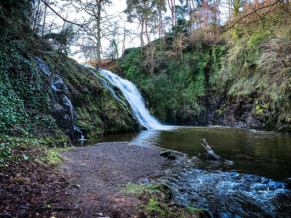 Stichill Linn Waterfall