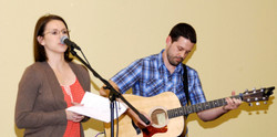 2013 SMSWF633 Scott Parker w Becky Parker 'In Just a While-X3