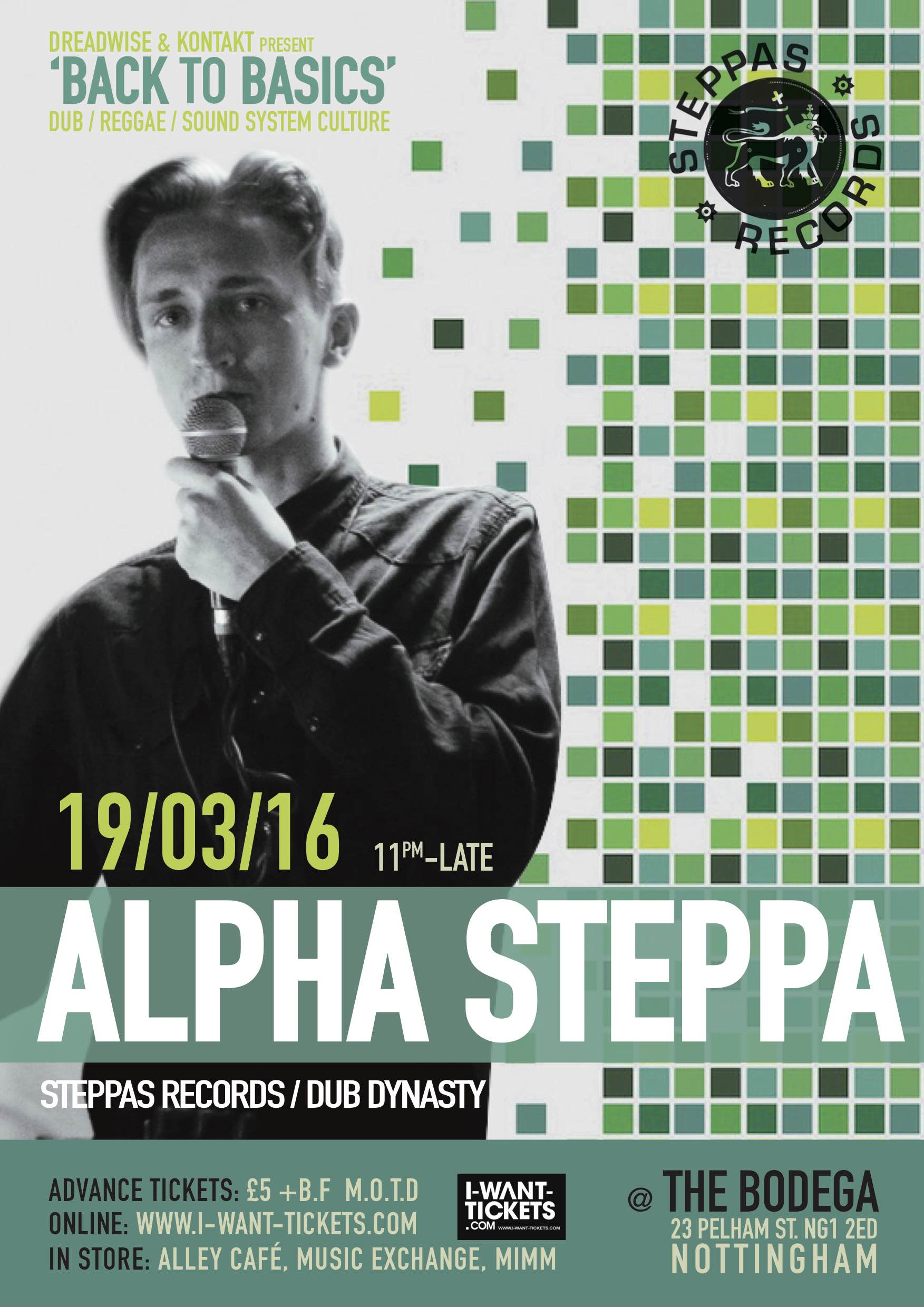 ALPHA STEPPA WEB