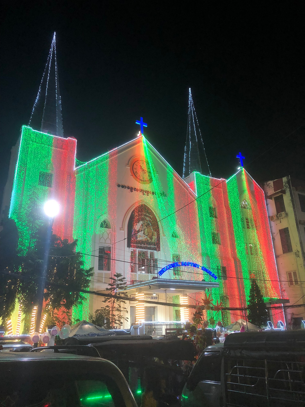 Christian Church in Yangon
