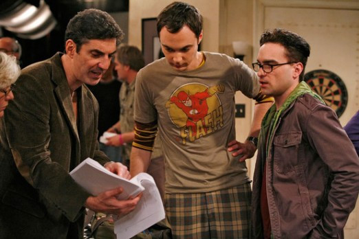 """Chuck Lorre and """"Actors"""""""