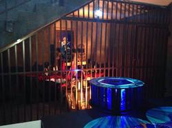 Blue Bead Project Altar