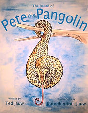 Pete the Pangolin Cover E book.jpg