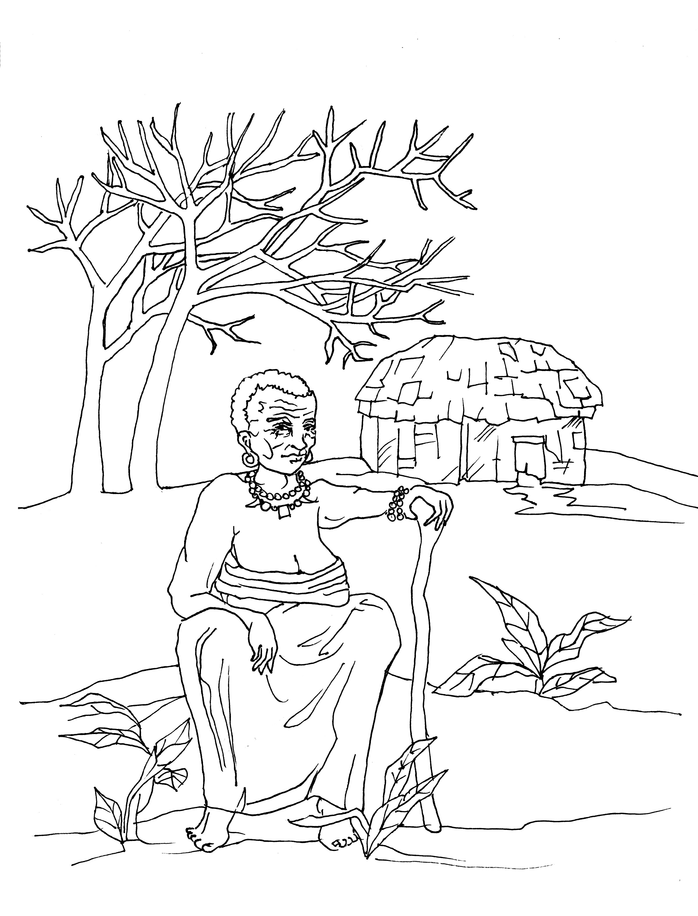 Songi Coloring Page