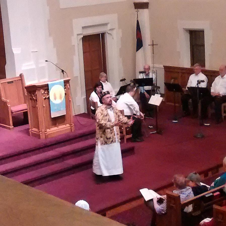 ted at church