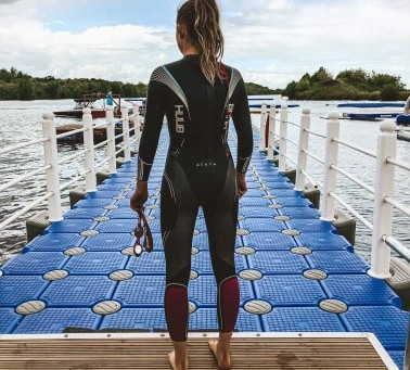 Tips for beginners at open-water swimming.