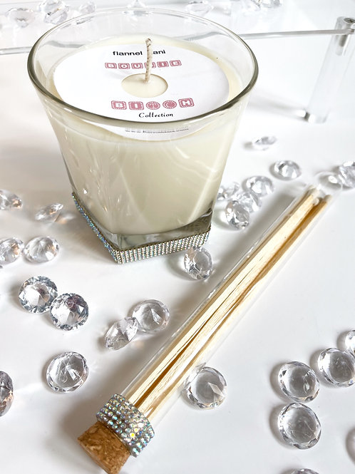 Bougie Bitch Glass Octagon Candle