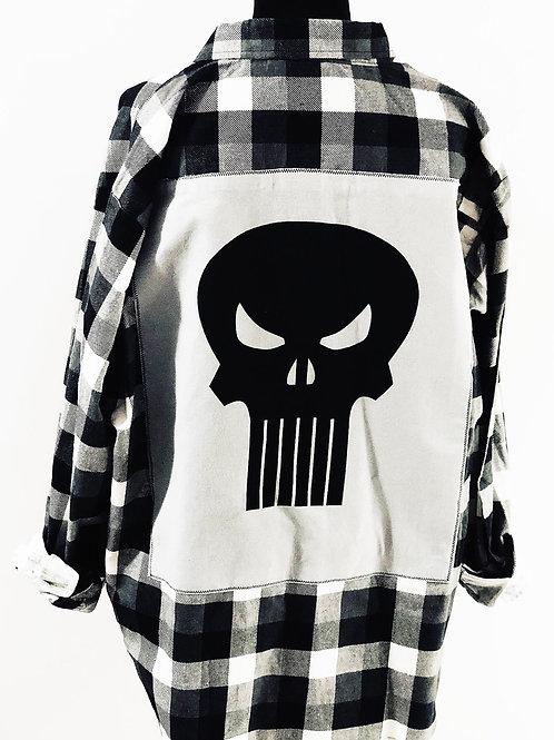 Buffalo Plaid Punisher Flannel