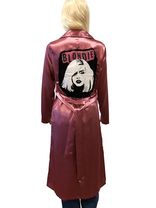 Satin Rose Trench
