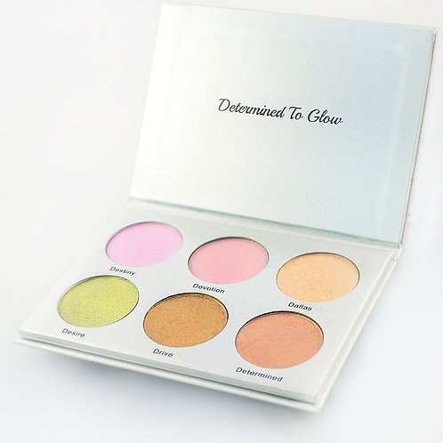 """""""Determined To Glow"""" Highlighter Palette"""