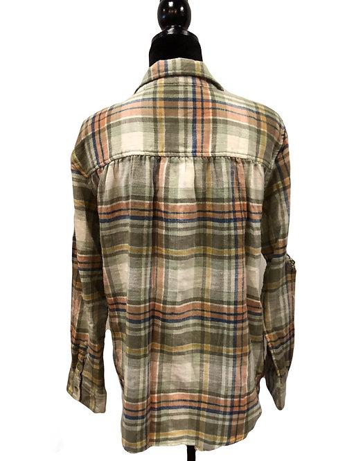 Ladies Khaki Flannel