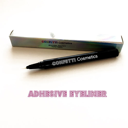 CONFETTI Adhesive Eyeliner Clear