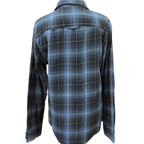 Mens Blue Flannel