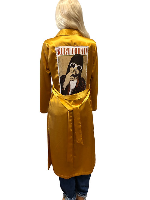Satin Gold Trench