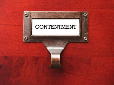 Making Space for Contentment